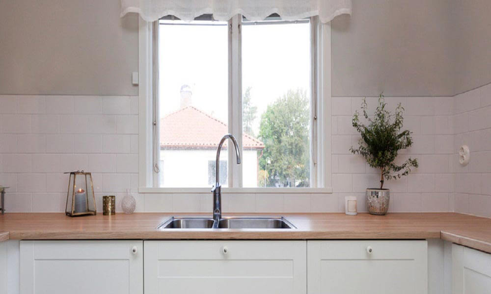 How To Vent A Kitchen Sink Under A Window